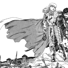 The once strong sense of camaraderie between Griffith and Guts.