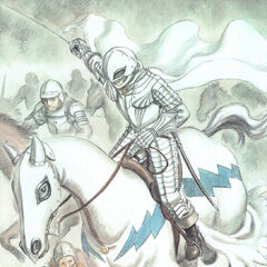 Griffith heading into battle.