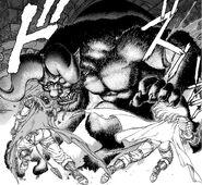 Guts y Griffith atacan a Zodd