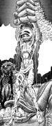 Wyald muestra el cuerpo destrozado de Griffith