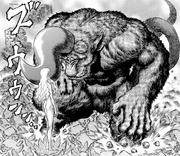 Manga E175 Zodd Kneeling