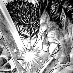 Zodd expresses enjoyment for a rematch between him and Guts.