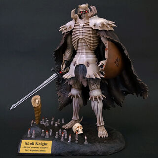 Skull Knight Birth Ceremony statue 2015 Repaint Edition released by Art of War.