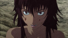 Casca about to attack Guts