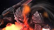 Aparición Guts con armadura Berserker (Overlord)