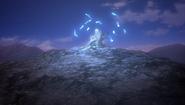 Evocación de espíritus tras el combate (anime)