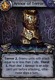 Armor of terror