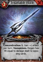 Insatiable blade