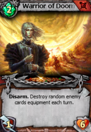 Warrior of doom