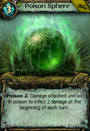 Poison sphere
