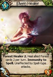 Elven healer