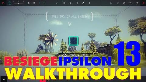 Besiege Zone 13 - Solomon's Flock WALKTHROUGH