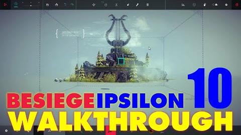 Besiege Zone 10 - Lyre Peak WALKTHROUGH