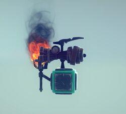 Steam cannon alt