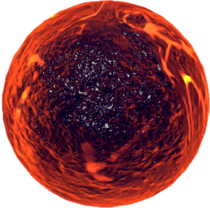 Flaming Ball