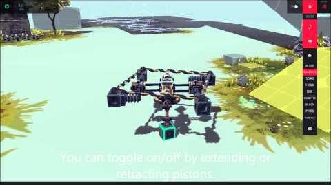 Besiege Piston Engine