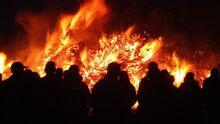 Samhain-bonfire