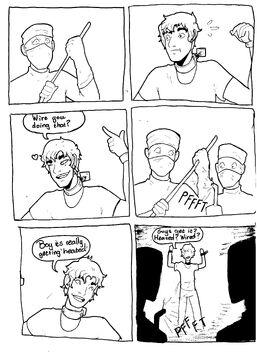Tourture comic