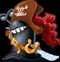 Schnecken pirat