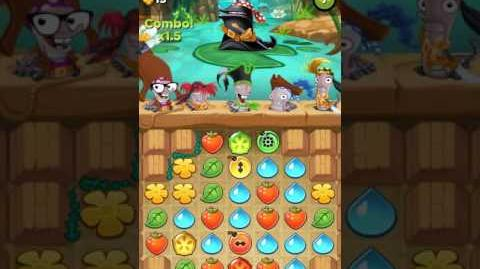 Best Fiends - Kapitän Schneckes -2 Level 7