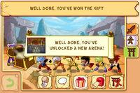 My Brute unlock a new arena