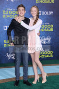 Gus-Kamp,-Charlene-Geisler-The-Good-Dinosaur-Los-Angeles-Premiere---Arrivals