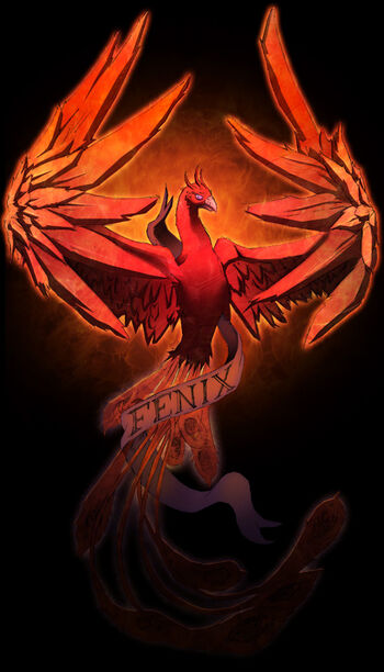 Fenix phoenix color by spade92 by young art