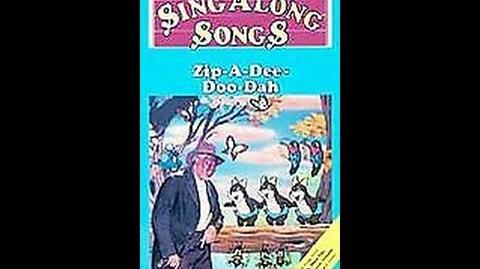 Walt Disney Home Video (United Kingdom) - Disney's Sing-Along Songs