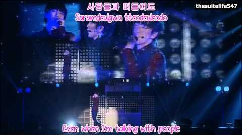 B1A4 (Sandeul) - Crush BABA B1A4 in Japan (Hangul, Romanization, Eng Sub)