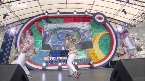 B1A4 - Bling Girl (Japanese ver.) @ Mezamashi Live 2012