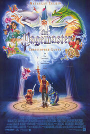 The pagemaster movie poster 1994