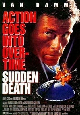 Sudden Death (1995 film poster)