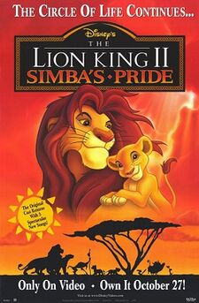 The Lion King II-Simba's Pride poster