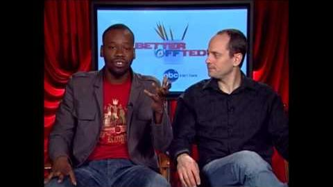Better Off Ted's Jonathan Slavin and Malcolm Barrett Interview with Avi the TV Geek