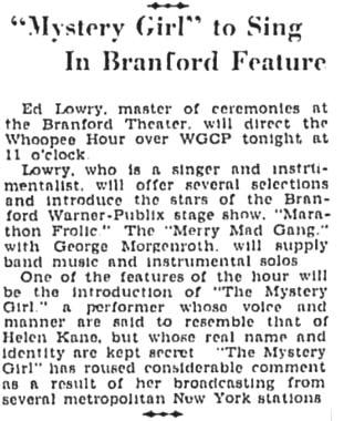 Mystery girl 1930