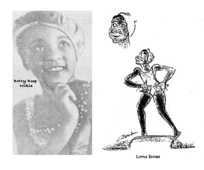 The real Baby Esther Jones in 1929 from Betty Boop Lover Tumblr - she was like a mini Josephine Baker in France