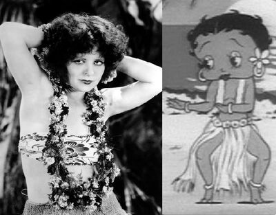 Bamboo Isle Isnpired by clara Bow Hula