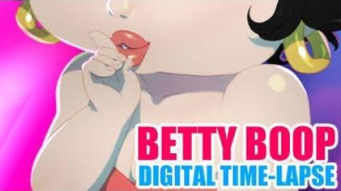 Digital Time-Lapse - Betty BOOP