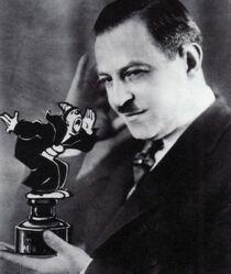 Founder of the Fleischer Studios Max Fleischer