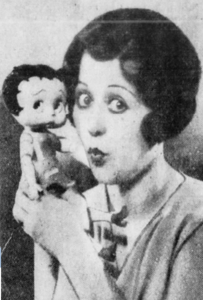 mae questel and betty boop doll 1930039
