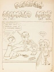 Max Fleischer popeye and betty