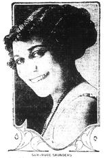 Gertrude Saunders
