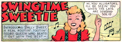 Sally Sweet 1939 Champion Comics