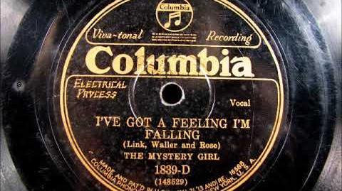 Catherine Wright - I've Got a Feeling I'm Falling