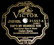 That's My Weakness Now Helen Kane Boop Record