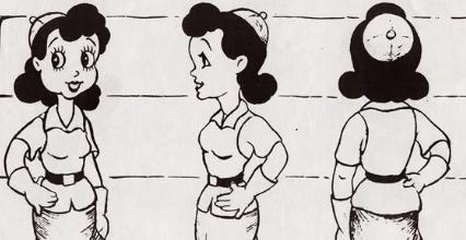 Sally Swing Concept Betty Boop Rose Marie Mazzetta