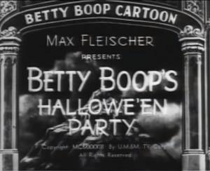Halloweenpartyboop
