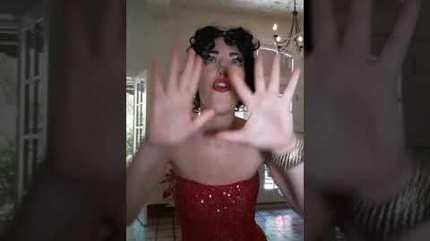 Impersonating Betty Boop - South Floirda Entertainment