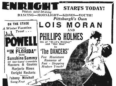 Sunshine Sammy Margie Hines Same Bill 1930