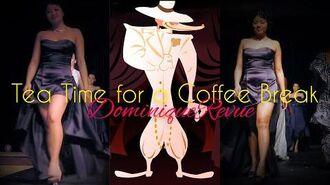 Dominique Revue Fashion Friday Cinema Coffee Edition